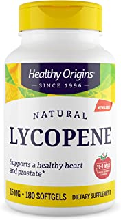Healthy Origins LYC-O-Mato Lycopene (Non-GMO) 15 mg, 180 Softgels