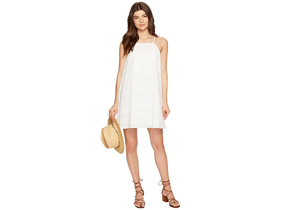 Jack by BB Dakota Neilan Textured Cotton Dress with Cotton Eyelet Yoke (Bright White) Women