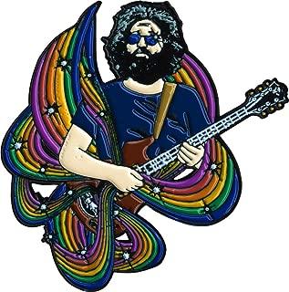 Jerry Garcia - Playing Guitar - Enamel Pin