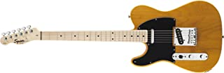 Best Squier by Fender Affinity Telecaster Beginner Electric Guitar - Left Handed -Maple Fingerboard, Butterscotch Blonde Reviews