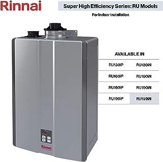 Rinnai RU Series Sensei SE+ Tankless Hot Water Heater: Indoor Installation