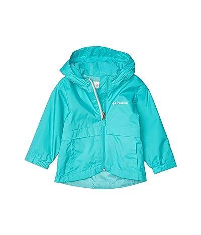 Columbia Kids Rain-Zillatm Jacket (Toddler) (Bright Aqua) Girl