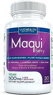 Purest Maqui Berry Extract Capsules | Recomendado por el