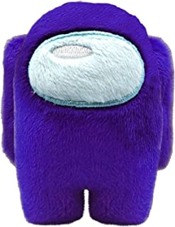 HMMJ Among Us Merch Crewmate Stuffed Plush Plushie Toy,Soft Plush Game Toy Stuffed Doll, Action Game Figures Soft Doll 10c...