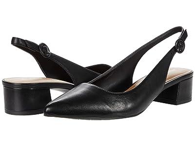 Aerosoles Grand Central (Black Leather) Women