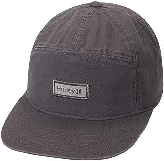 Hurley Men's Octane Adjustable Enzyme Stone Wash Snapback Baseball Hat Active Athlete