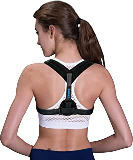 Posture Corrector Spinal Support - Physical Therapy Posture Brace for Men or Women - Back, Shoulder, and Neck Pain Relief - Posture Trainer