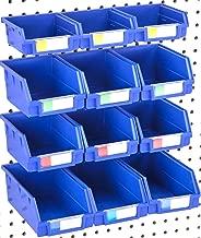 clear pegboard bins
