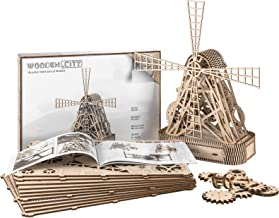Wooden Farm Mill – Beautiful Mill Sculpture or Toy Windmill 3d Model, by WOODEN.CITY.