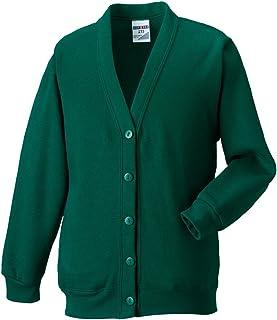 Russell Womens Sweatshirt Cardigan