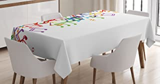 Best music note tablecloth Reviews