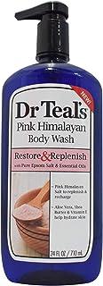 Dr. Teal's Epsom Salt Body Wash - Pink Himalayan, 710ml