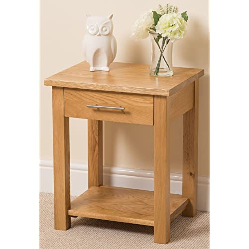 Oak Side Tables For Living Room Amazoncouk