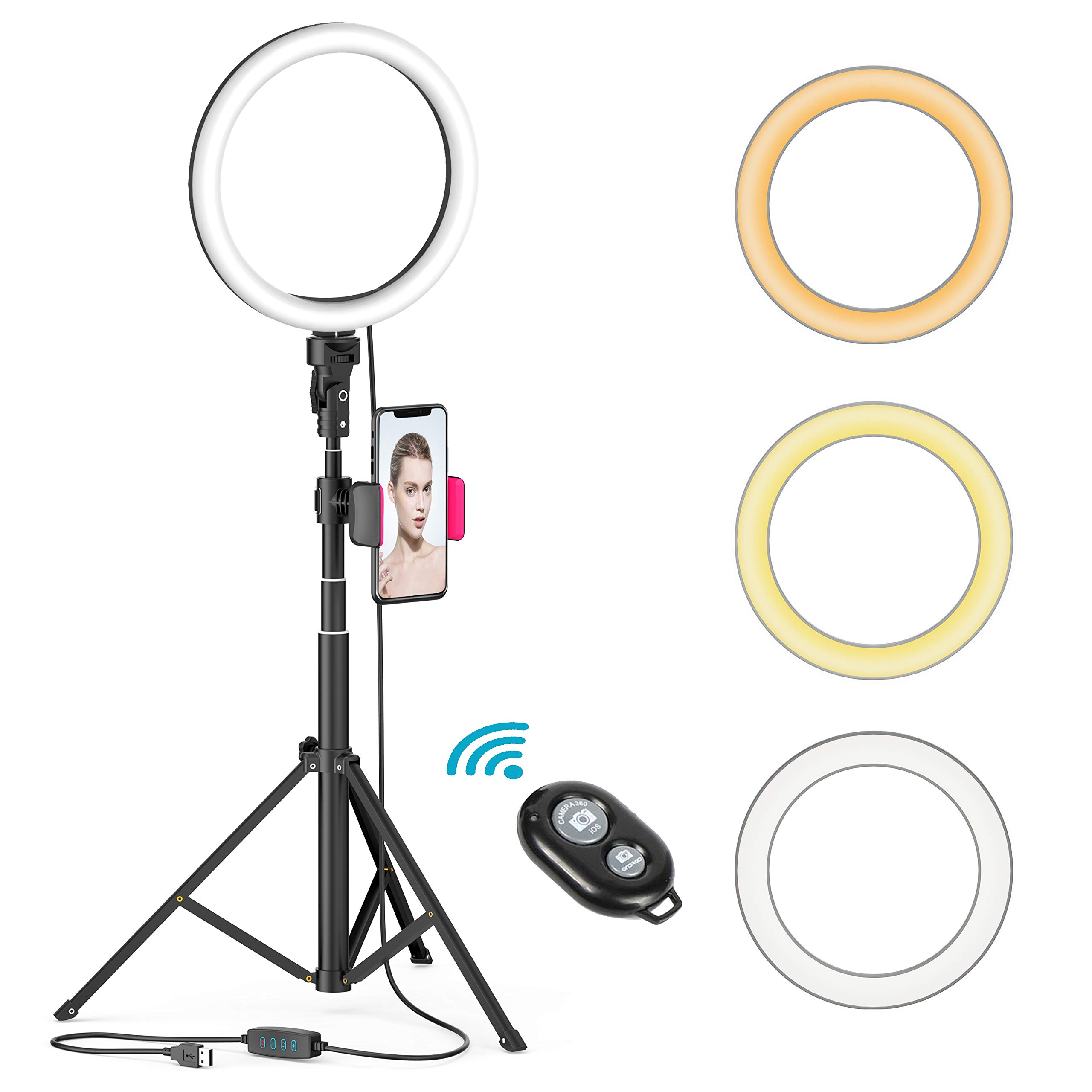 YouTube Dimmable Ringlight Temperature 3000K 5000K