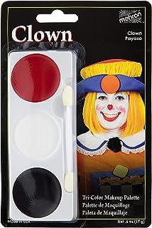 Mehron Makeup Tri-Color Halloween Makeup Palette (Clown)