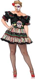 Women's Day of The Dead Sugar Skull Costume