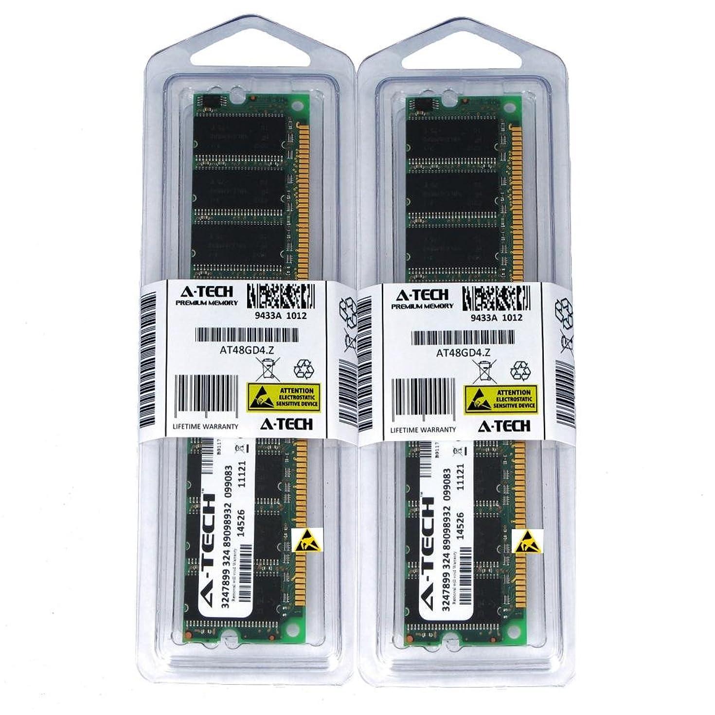 A-Tech 1GB Kit (2X 512MB) DDR 266MHz PC2100 184-pin DIMM Desktop Computer Memory RAM Modules
