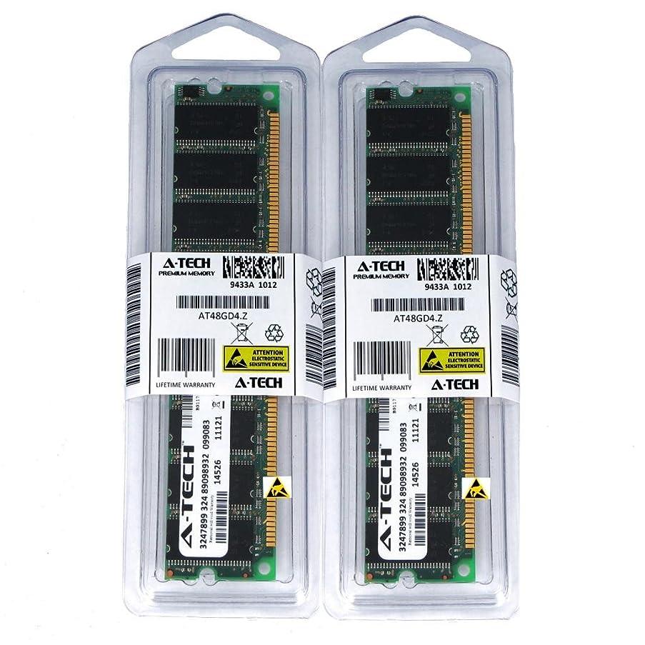 2GB KIT (2 x 1GB) for Apple eMac G4 1.25 GHz M9425LL/A A1002 PowerMac64 G4 1.42 GHz 2005 M9834LL/A A1002 PowerMac64. DIMM DDR Non-ECC PC2700 333MHz RAM Memory. Genuine A-Tech Brand.