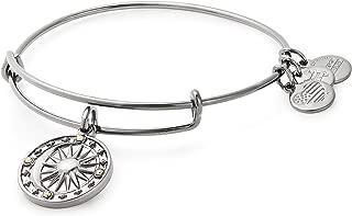 Women's Cosmic Balance II Bangle Midnight Silver Bracelet, Midnight Silver, Expandable
