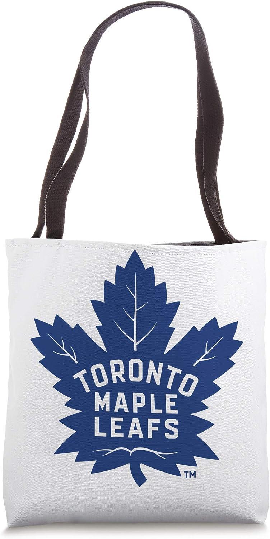 NHL Toronto Maple Leafs Team Logo Beach Tote Bag