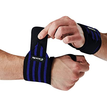 Lorpect Wrist Wraps Professional Grade with Thumb Loops - Wrist Support Braces Men & Women Weight Lifting, Crossfit Powerlifting Strength Training