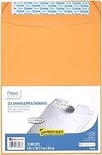 """Mead Envelopes, Press-It Seal-It, 9"""" x 12"""", Self Adhesive, Office Pack, Brown Kraft, 25-Pack (76086)"""