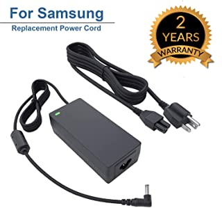 "for Samsung 32"" Class J5205 J5003 22"" H5000 Full LED Smart HDTV Monitor TV Adapter Charger Power Cord Supply 19V AC DC 8.5Ft"