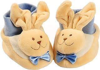 Baby-Bow, Calcetines gruesos para recién nacido, diseño de conejo azul