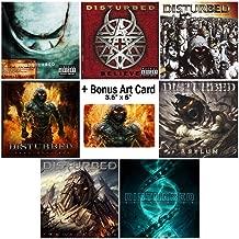 Disturbed: Complete Studio Album Discography - 7 CDs + Bonus Art Card