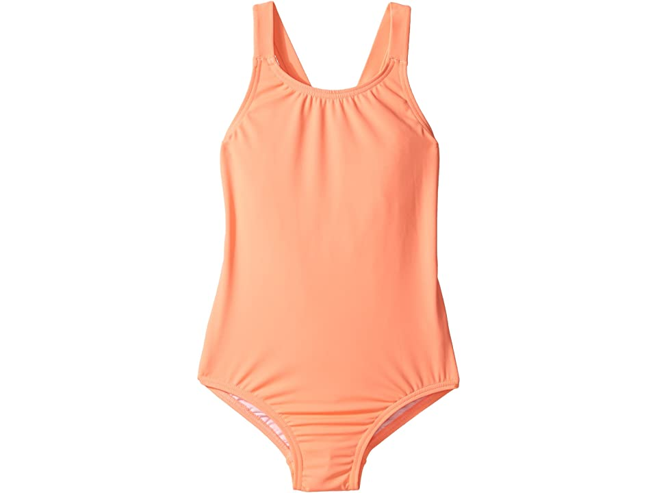 Seafolly Kids Sweet Summer Tank One-Piece (Infant/Toddler/Little Kids) (Rockmelon) Girl