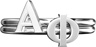 A-List Greek Alpha Phi Sorority Stack Rings