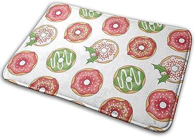 Doughnut Carpet Non-Slip Welcome Front Doormat Entryway Carpet Washable Outdoor Indoor Mat Room Rug 15.7 X 23.6 inch