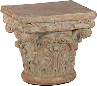 A&B Home 73379 Decorative Pedestal, 10 by 10 by 9-Inch