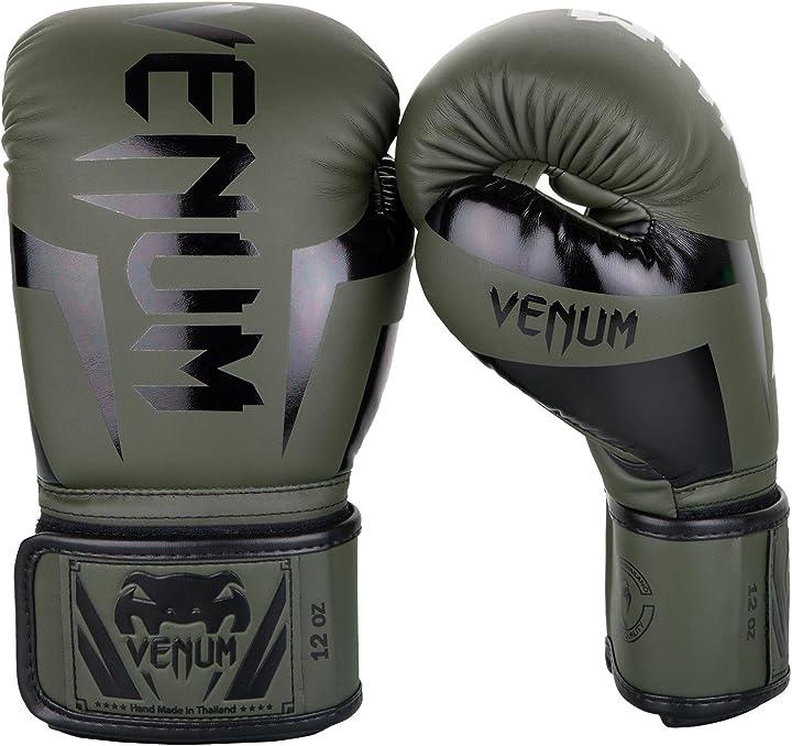 guanti da boxe venum elite venum-0984-431-10oz