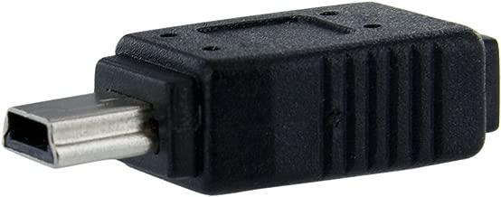 StarTech.com Micro USB to Mini USB 2.0 Adapter - Micro USB (f) to Mini USB (m) (UUSBMUSBFM)
