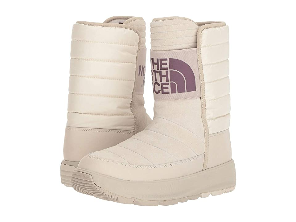 The North Face Ozone Park Winter Pull-On Boot (Vintage White/Peyote Beige) Women