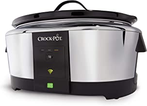 Crock-Pot 6-Quart WeMo-Enabled Smart Slow Cooker, Stainless Steel