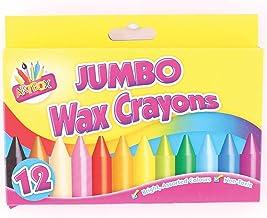 Tallon 2 X Artbox 12 Jumbo Size Wax Crayons Set of 12 Assorted Colours