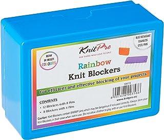 KnitPro tricot arc-en-ciel (12 bloqueurs à 8 broches / 8 bloqueurs à 4 broches)