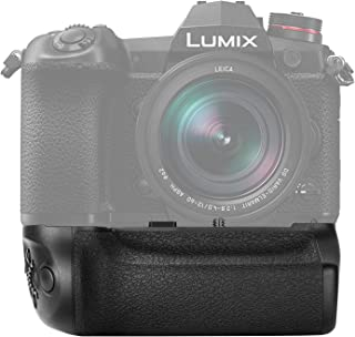 Neewer Battery Grip Compatible with Panasonic Lumix G9 Camera Replacement for DMW-BGG9 with Shutter Release Focus Point Co...
