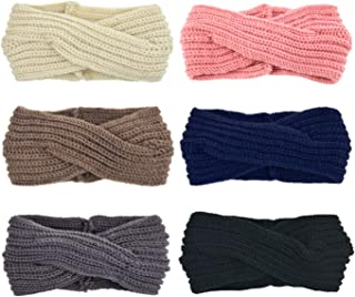 Hair Srunchies Scarves for Hair Women Elastic Chiffon Ponytail Holder Hair Ties Pack 6/8