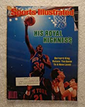 Bernard King - New York Knicks - Sports Illustrated - May 7, 1984 - SI