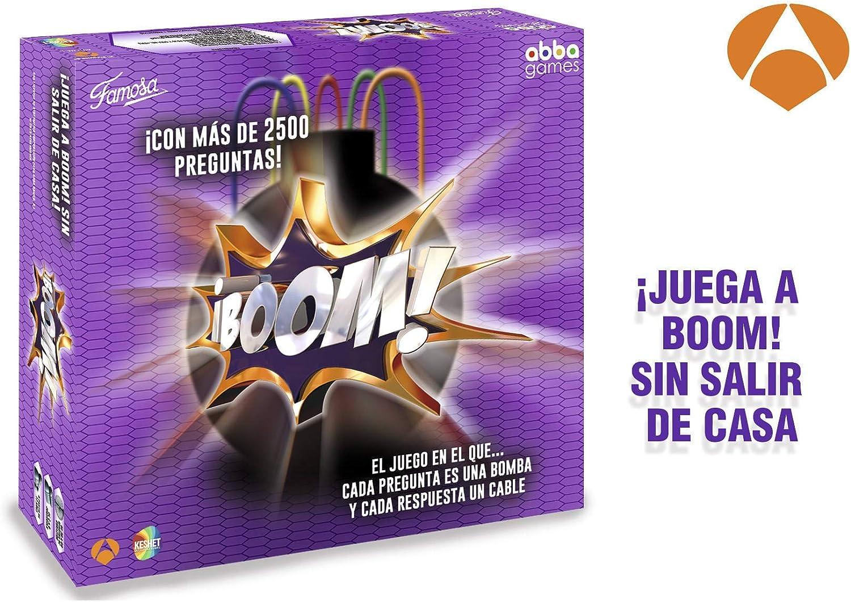 FAMOGAMES Boom Juego de Mesa Adultos (Famosa, 700013151)