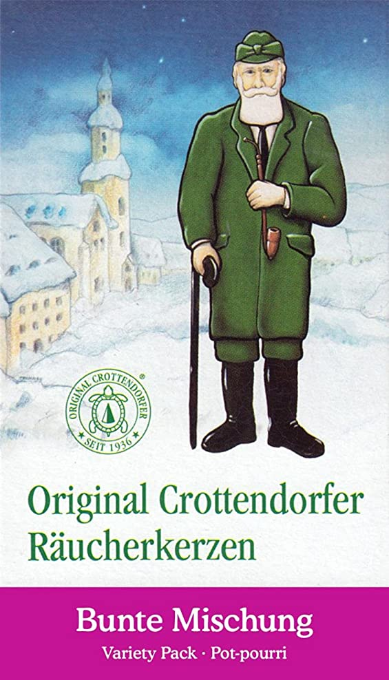 小麦粉アーサー直立Crottendorfer Potpourri Variety PackクリスマスScents German Incense Cones