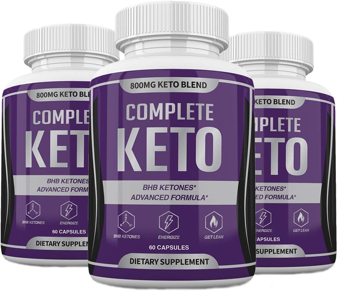 Complete Keto Diet Alternative 5 ☆ very popular dealer Pills - Advanced 180 Ketones Formula BHB