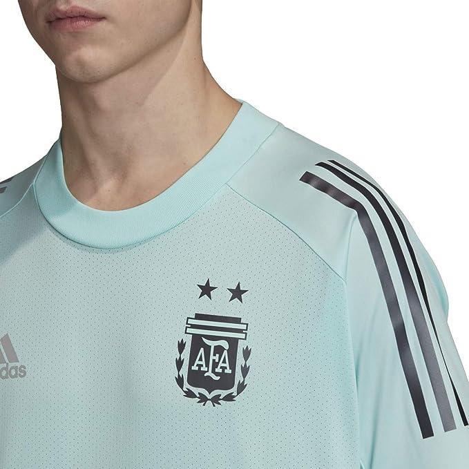 Amazon.com: adidas Men's Soccer Argentina Pre-Match Training Top ...