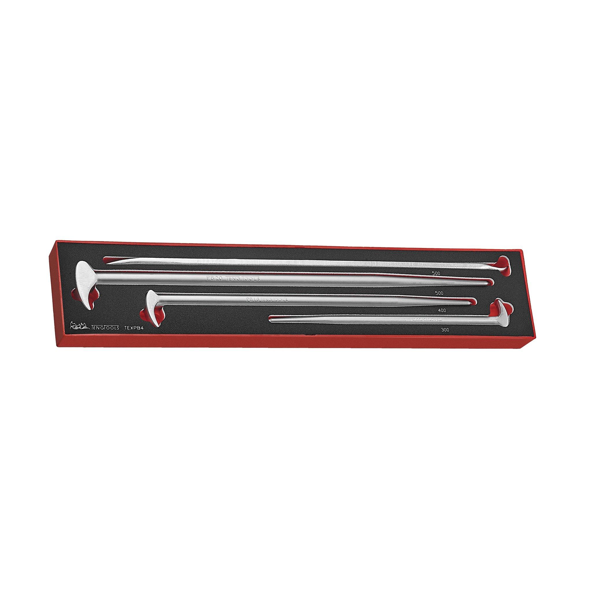 TTXPB3 Teng Tools 3 Piece Pry Bar Set