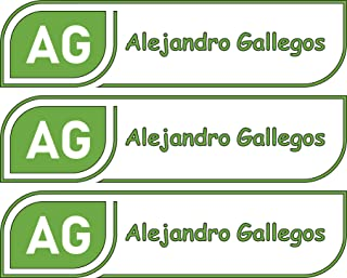 All-purpose, Custom Name Labels, Name And Initials, Multiple Colors And Sizes, Waterproof, Microwave And Dishwasher Safe, Washer And Dryer Safe, Custom Name Label For Daycare, Custom Labels