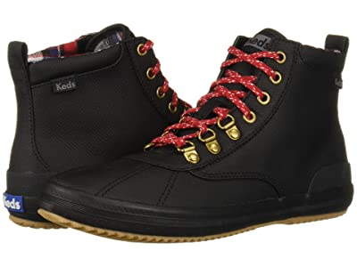 Keds Scout Boot II Matte Twill WX (Black) Women