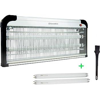 Concise Home XHY-40EU-1 Anti Moustique Electrique Intérieur 40W UV,Non Toxique, Efficace 90m², 2 Tubes de 20w Cadeau